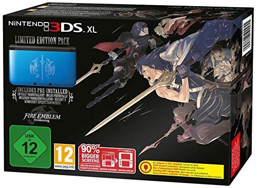 Nintendo 3DS XL - Konsole, blau + Fire Emblem Awakening (vorinstalliert) (Fire Nintendo 3ds Xl)