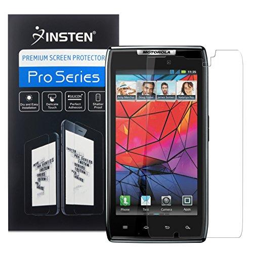 Motorola Droid Razr XT910XT912-Fünf (5) Premium Ultra Klar, Smooth Touch LCD-Displayschutzfolie (mit Reinigungstuch) Combo Pack [accessoryone Marke]