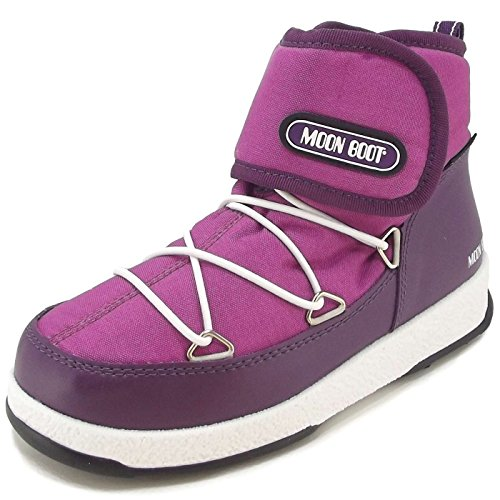 Moon Boot by Tecnica W.E. Jr Strap WP, Bottes d'hiver fille orchidee/violet