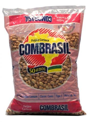 Feijao carioquinha - Combrasil - 1kg (Bohnen Braune)