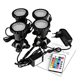 Spot Light 36 LED Unterwasser Spot Licht IP68 wasserdicht Aquarium