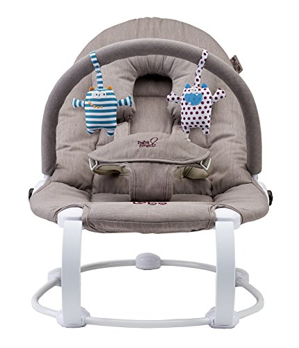 Bababing! Lobo2 Two Position Baby Bouncer (Grey Twill) 51Cc814rWlL