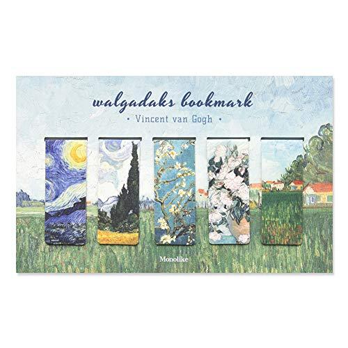 Monolike segnalibri magnetici VINCENT Van Gogh, set di 5