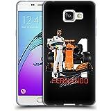 Officiel McLaren Honda MCL32 Fernando Alonso 2017 Formula 1 Team Étui Coque en Gel molle pour Samsung Galaxy A5 (2016)