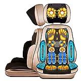 SHISHANG Massagesessel mit Wärme mechanische Hand-Line Control abnehmbar (Hals / Taille / Schultermassage Pad / Home multifunktionale Massagekissen) Gold Gold
