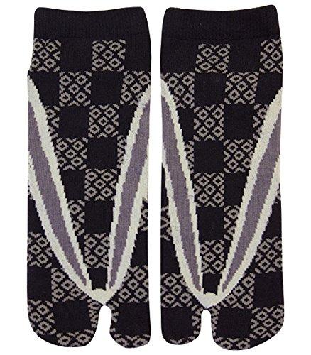 Preisvergleich Produktbild Männer Tabi Socken Zehensocken Pflastersteine
