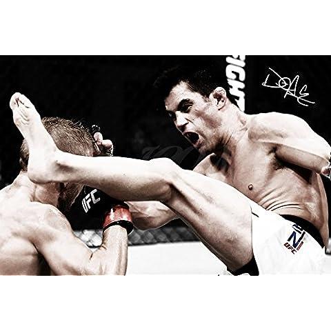 Dominick Cruz 4Art Pre firmato Stampa fotografica–Superba qualità–30,5x 20,3cm