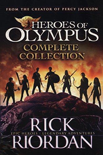 HEROES OF OLYMPUS BOX SET - 5 TITLES (Rick Riordan-box)