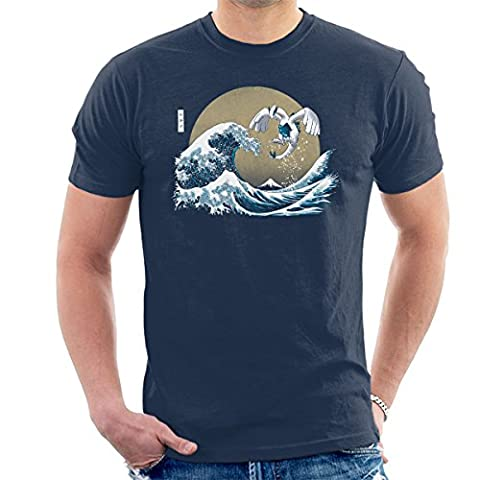 Pokemon The Great Guardian Lugia Men's T-Shirt