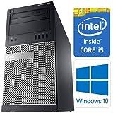 Dell OptiPlex 7010 MT 3rd Gen Quad Core i5-3470 8GB 320GB DVDRW Windows 10 Professional 64-Bit Desktop PC Computer (Certified Refurbished)