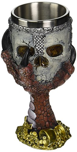 iseymi teschio tazza Goblet e interno in acciaio Tank Halloween Regali per feste Creative personalizzata