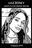 Lisa Bonet Adult Coloring Book: The Cosby Show Star and TV Personality, Legendary Child Actress and Beautiful Model Icon Inspired Adult Coloring Book