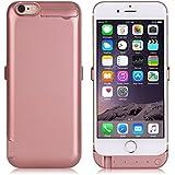 """ZOGIN Funda Batería iphone 6 plus / iphone 6s plus, 10000mAh Funda Protectora Cargador / Funda de Batería Integrada Recargable de Alta Capacidad para iPhone 6 plus / 6s plus 5.5"""", Color Rosa"""