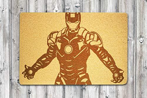 StarlingShop - Felpudo Puerta Iron Man diseño Iron