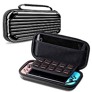 SAffe Nintendo Switch Tasche, Harte Reisetasche/Aufbewahrungstasche/ Schutzhülle/Tragtasche für Nintendo Switch Konsole & Zubehör