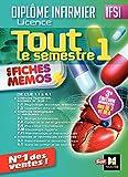 IFSI Tout le semestre 1 en fiches mémos - Diplôme infirmier - 3e édition (French Edition)