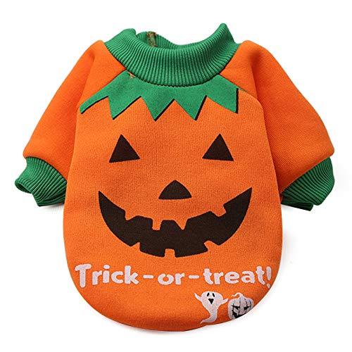 Hongfutong Halloween-Kostüm, Kürbis-Hexen-Muster, Kleidung aus Baumwolle