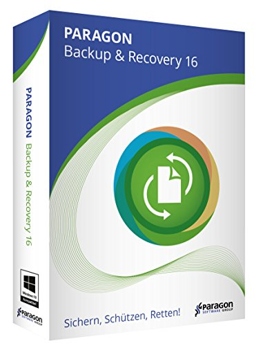 Paragon Backup & Recovery 16 - 7 Wiederherstellungs-cd Windows