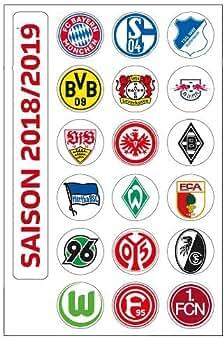 2018-2019 Magnettabelle DFL 1 Bundesliga