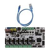 JENOR Rumba + All-in-One-Board-Steuerungskarte Rumba Board Integrated Motherboard 2560