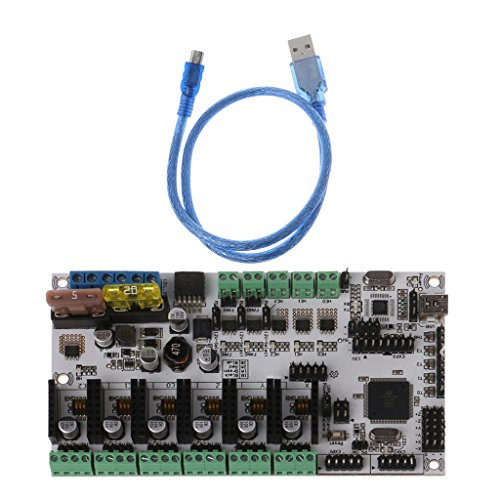JENOR Rumba + All-in-One-Board-Steuerungskarte Rumba Board Integrated Motherboard 2560