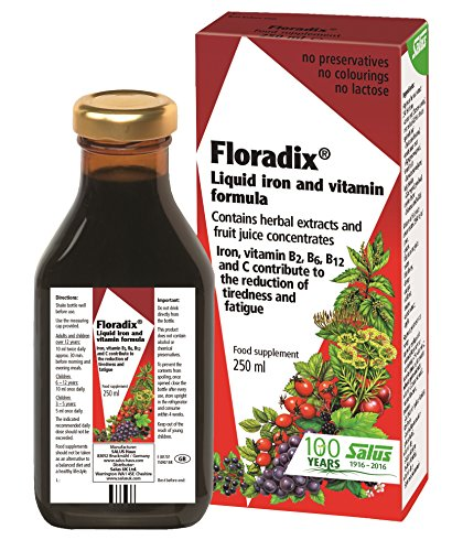 Floradix Liquid Iron and Vitamin Formula  250ml