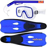 blau Salvas Tauch /& Schnorchel Tonic Dive Set EB194LXBB L//XL