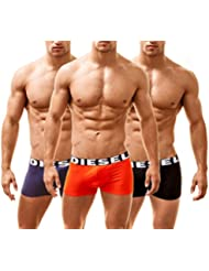 Diesel Lot de 3 Boxers (Medium, Multi)