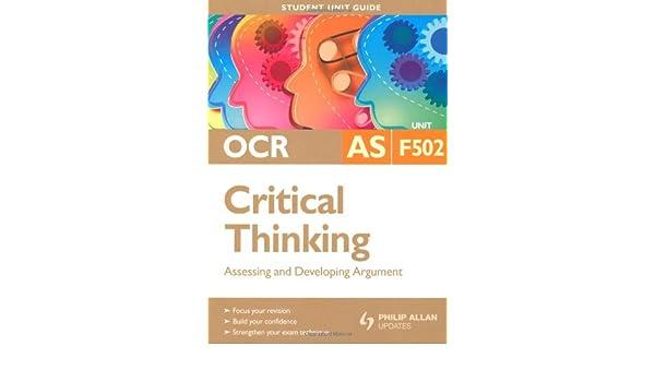 AQA Critical Thinking AS  Student s Book  Amazon co uk  John     Amazon UK Human Biology for AS Level