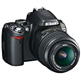 Nikon D60 Digital SLR Camera - Black