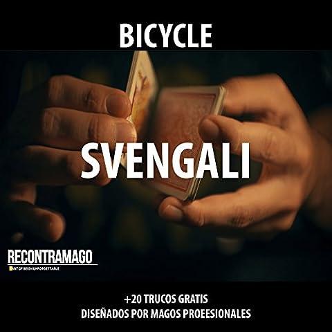 Trucos de Magia - Baraja BICYCLE Svengali con Instrucciones y 20 Juegos de Magia Gratis en Español. Hechos por Magos profesionales de RecontraMago