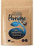 Basisches Porridge aus 6 gekeimten Bio Saaten (Dinkel, Leinsamen, Hirse, Mais, Buchweizen, Linse), 100% natürlich, 250g