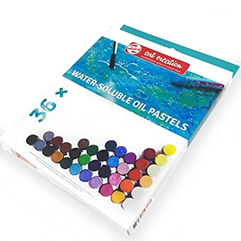 Royal Talens – Art Création de Aquarellable pastels à l'huile – Lot de 36
