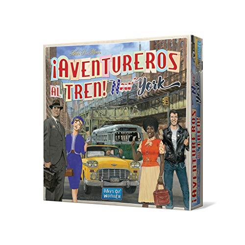 Days of Wonder-¡ ¡Aventureros al Tren! New York - Español, (Edge Entertainment DW720860)