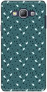The Racoon Lean printed designer hard back mobile phone case cover for Samsung Galaxy A7. (babbity ra)