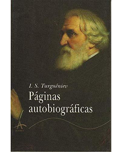 Páginas autobiográficas (Clásica)