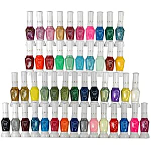 48x Vernis A ongles 2 facon usage pinceau stylo liner peinture manucure