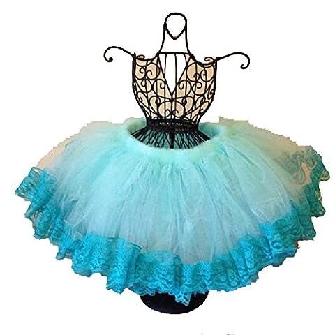 Kolylong Princesse Toddler Multilayer Tulle Dance Party Jupes BéBé Fille Tutu Jupes (Taille: 8,66