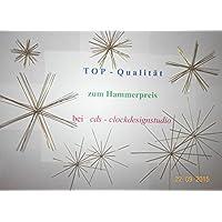 Perlensterne Bastelset 24-teilig Perlen Sterne Deko Weihnachten Drahtsterne Basteln