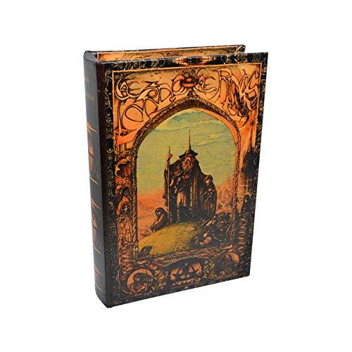 Art Deco Home Libro-Caja Fuerte Lord Hobbit 16x5x24cm