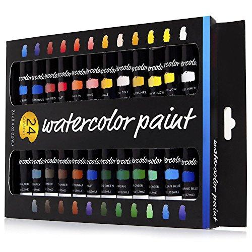 watercolour-paint-set-24-colours-non-toxic-watercolour-paints-12ml-premium-professional-grade-excell