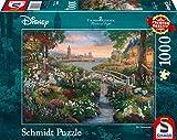 Schmidt Spiele Puzzle 59489 Thomas Kinkade, Disney, 101 Dalmatiner, 1000 Teile Puzzle, bunt