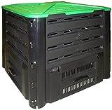 Belli 0886 7 Composteur Compos'Fast 350 L Noir/Vert 77 x 76 cm
