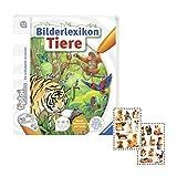 tiptoi Ravensburger Tier-Buch - Bilderlexikon Tiere + Hunde/Katzen-Sticker