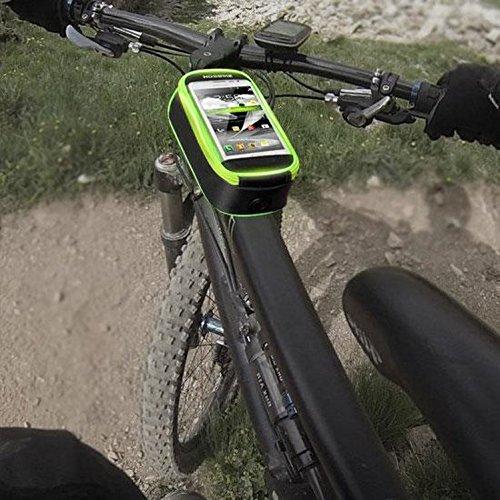 Fahrradtasche Nosbike gruen-schwarz