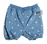 Sigikid Mädchen Jeans Bermudas, Baby, Blau (Denim Light Blue 590), 68