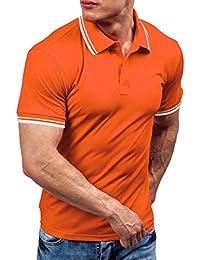 FAMILIZO Mens T Shirts Polos Manga Corta Hombre Polos Slim Fit Hombre Polos Hombre Manga Corta