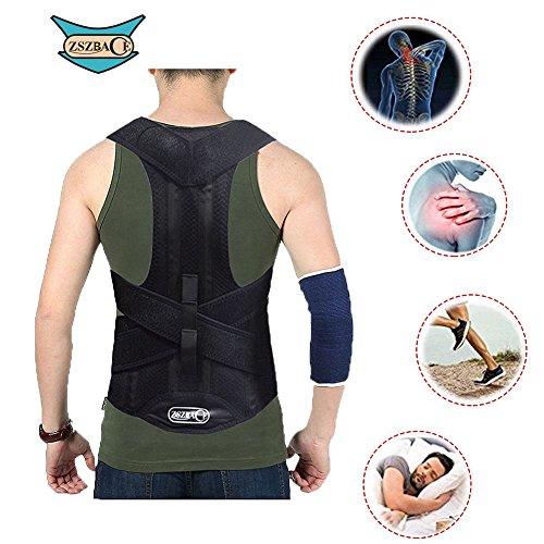 Soporte Espalda, Corrector de postura, Aliviar dolor de espalda (L)