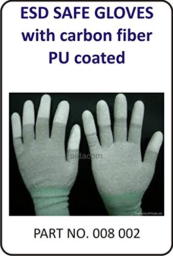 Electromark ESD Top Fit Gloves (PU Coated Gloves)