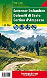 Sextener Dolomiten - Cortina d'Ampezzo, Wanderkarte 1:50.000, WKS 10, freytag & berndt Wander-Rad-Freizeitkarten